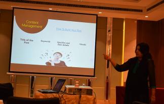 Blogging workshop - 3