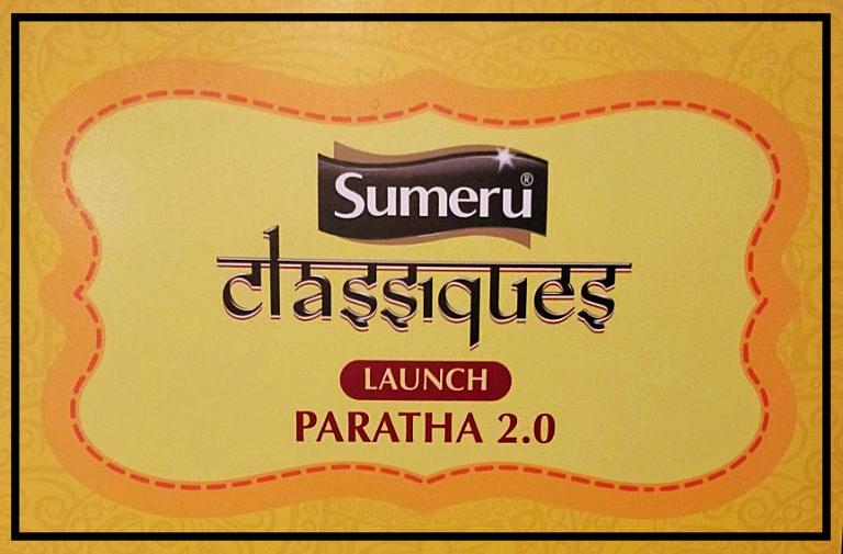 """Launch of Sumeru """"Classiques"""" Paratha by Chef AjayChopra"""
